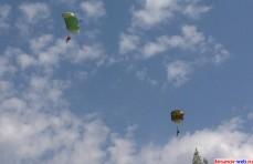 Команда тамбовских парашютистов