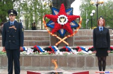 Почетный караул у Мемориала, 9 Мая. Кирсанов