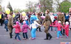 Солдаты с детьми