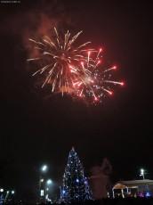 Салют новогодний 31.12.16г.