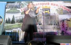 Елена Кукарская, финалистка 'Фабрика звезд-5', День города 2013