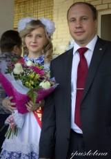 Глава города с выпускницей