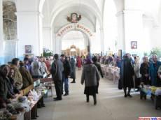 В Тихвинно-Богородицком монастыре