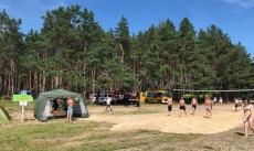 День туриста на озере Прорва