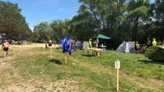 Туристический слет на озере Прорва