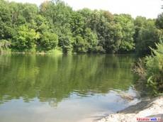 Река Ворона-отличный пляж