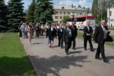 встреча немецкой группы в Кирсанове
