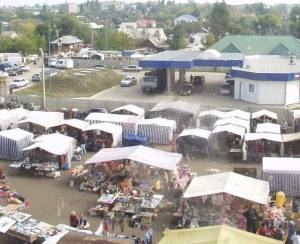 Кирсановский вещевой рынок