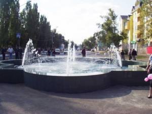 Фонтан в Кирсанове