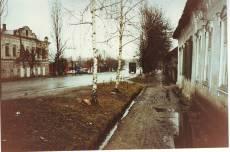 ул.Красноармейская в непогоду