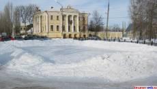 Каток в центре Кирсанова