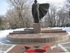 Памятник участникам ВОВ в Кирсанове