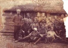 Офицеры первой мировой войны (старое фото)