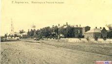 Тихвинский монастырь и Земская больница