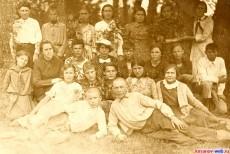 Ученики шиновской школы. Фото 1936 год