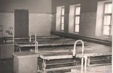 Кирсановская городская баня - моечная, 1960 год