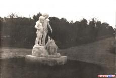 Городской секвер-скульптура дети с пигвинами, 1955 год