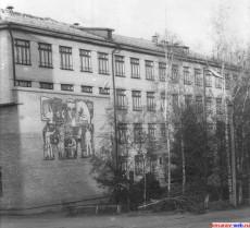 Учебный корпус техникума 1987 год