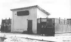 Летний кинотеатр. Фото 1955 год