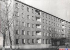 Общежитие №2 кирсановского совхоза техникуа. 1987 г