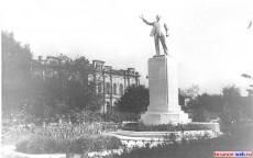 Памятник В.И. Ленину. Сквер, 1968 г