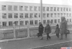 Средняя школа №1 новое здание. 1988 г