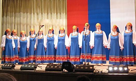 на сцене Кирсановские веселушки