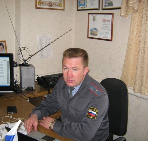 начальник ГИБДД  Климанов С. В.