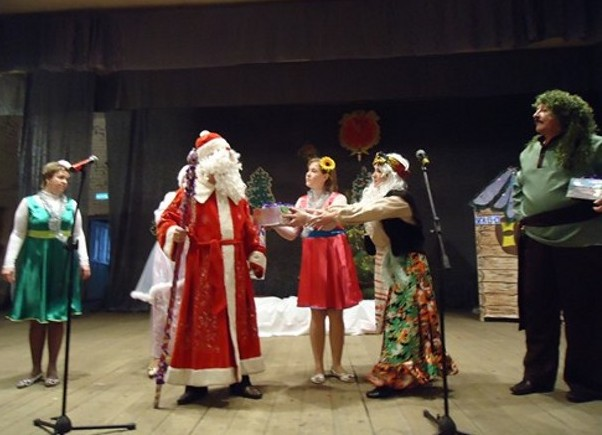 новогодний праздник в Кирсанове