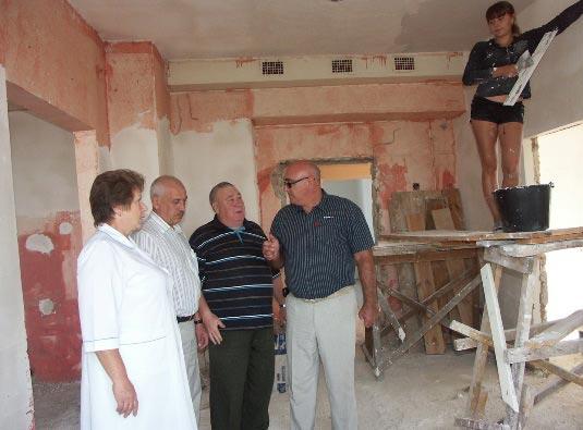 фото ремонта Кирсановской поликлиники