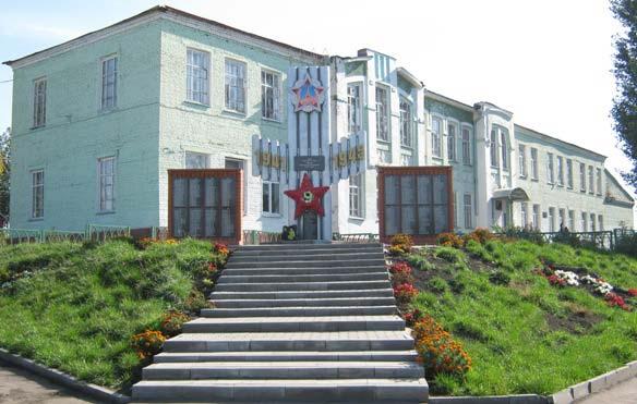 Уваровщинская школа, монумент воинской Славы