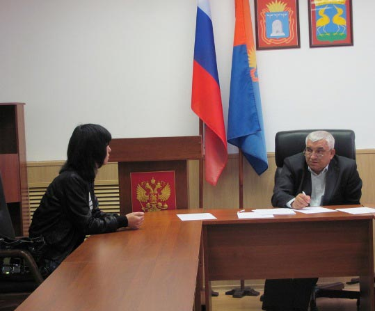 В. М. Горлов в администрации Кирсанова